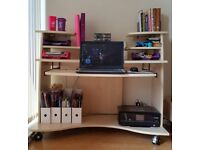 A functional computer desk table (and swivel chair) for £25