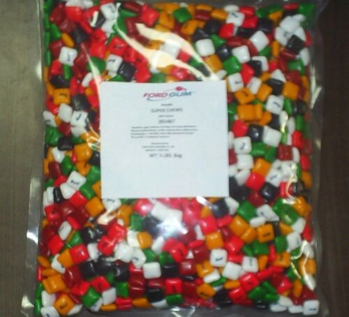 NEW bag of REAL FORD BRANDED CHICLET GUM 5 lbs BUY NOW with Black Licorice USA