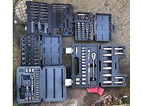 Various socket sets