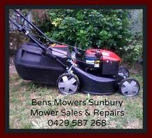 MOWER SALES AND REPAIRS 7 DAYS A WEEK. BENS MOWERS SUNBURY.● Sunbury Hume Area Preview