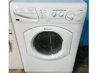 b181 white hotpoint 5kg&5kg 1200spin washer dryer comes with warranty can be delivered or collected