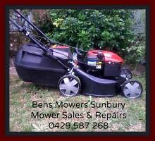 Lawn Mowers sold with WARRANTY & CATCHERS Sunbury Hume Area Preview