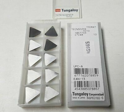 10 Pcs Tungaloy Tecn 32zfr Th10 1603 Pefr Carbide Inserts New