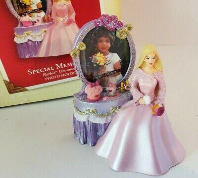Barbie Keepsake Ornament Hallmark Special Memories Photo Holder Christmas 2003