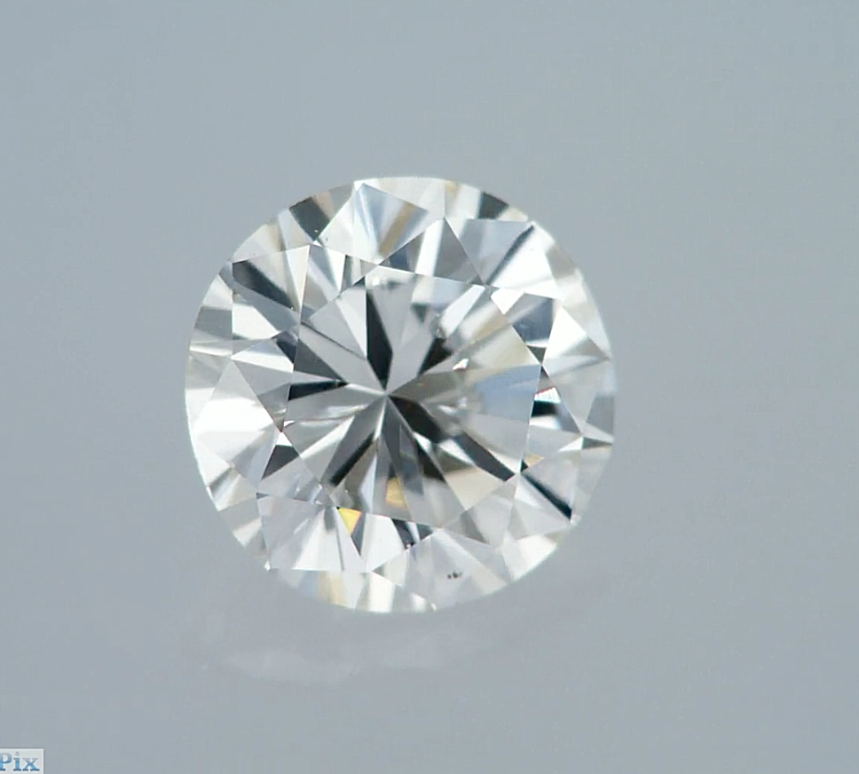 Round Cut Natural Loose Diamond 100% Real 0.49 Ct I VS2 GIA Cert New
