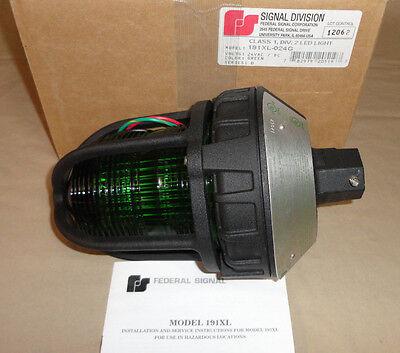 Federal Signal 191xl-024g Led Light Green Hazardous Locations 191xl024g New