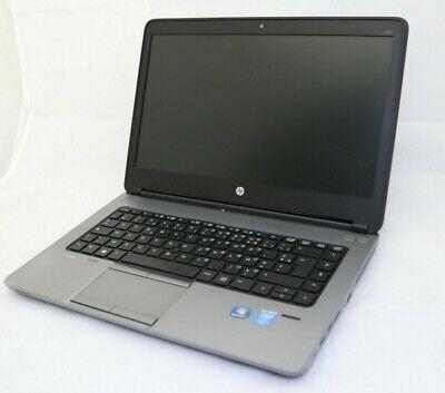 "HP ProBook 640 G1 14"" Laptop PC i5-4300 4GB RAM 256GB SSD Windows 10 French K/B"