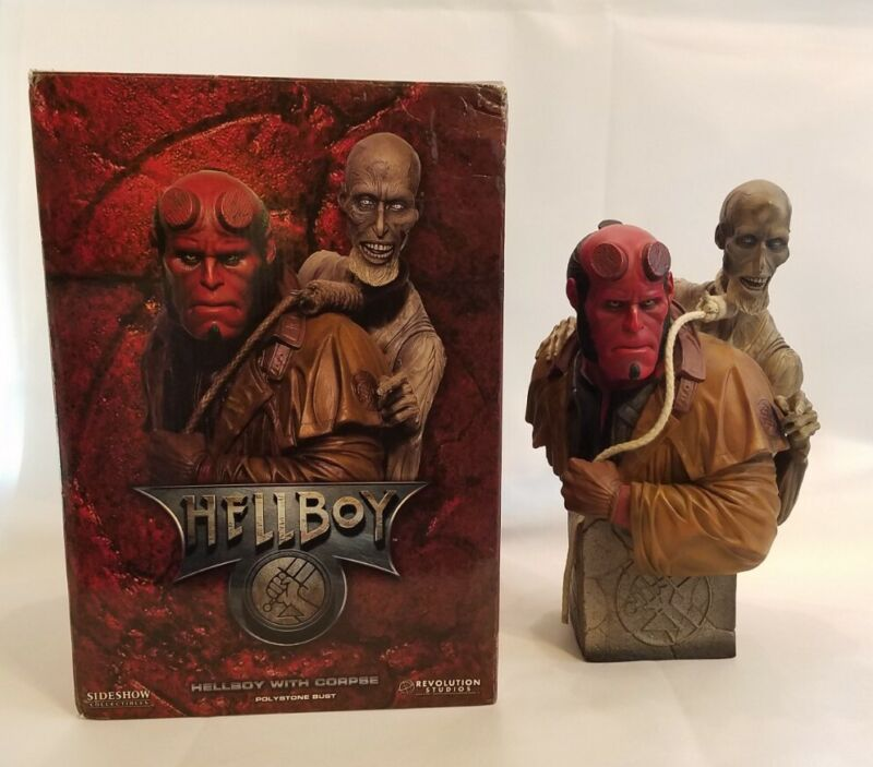 Sideshow Hellboy with Corpse Ivan Klimatovich Bust Golden Army Ron Perlman #542