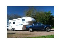 Celtic Rambler and Nissan Navara