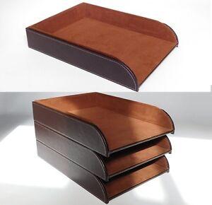 ablage leder ebay. Black Bedroom Furniture Sets. Home Design Ideas