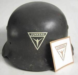 WW2-German-Junkers-Factory-Helmet-Stencil-Template-M34-M35-M40-M42-WWII-Security