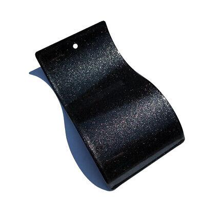 Gloss Black Metallic Sparkle Powder Coat Paint - New 1lb
