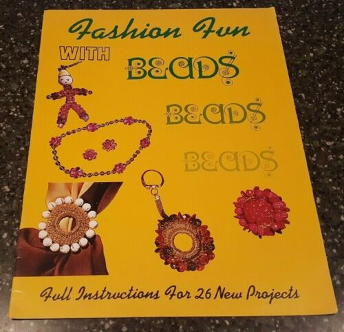 Fashion Fun with Beads American Handicrafts Beading Pattern 28 New Projects