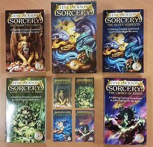 Sorcery! ***BRAND NEW RARE BOX SET!!*** Wizard Fighting Fantasy Steve Jackson