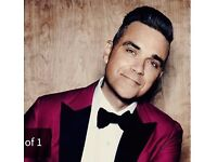 Robbie Williams 4 seated tickets June 2nd Manchester, tickets in hand, will split in pairs