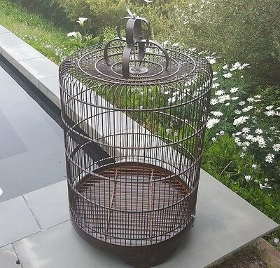 Birdcage, XL, brand new, handmade, wood, hanging/table top, decorative, decor