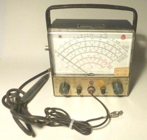 vintage RCA SENIOR VOLTOHMYST  METER model WV-98A w/ PROBE - Working - New Caps