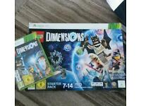 Lego Dimensions Starter Pack inc game Xbox 360