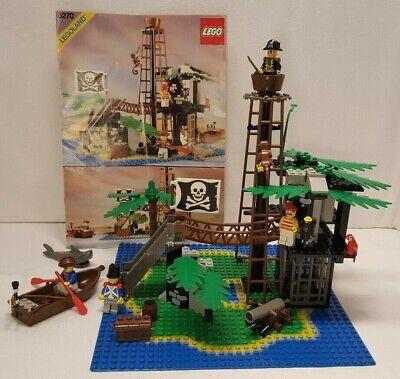 Vintage 1997 Lego Pirates I #6270-1 Forbidden Island - 100% Comp w/Instructions