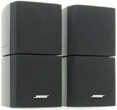 Bose Double Cube Pair Speakers Acoustimass Lifestyle Mountable Surround-Sound