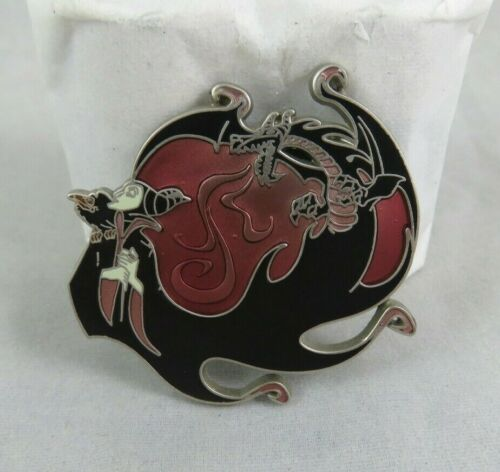 Disney Pin - Being Bad - Maleficent and Dragon - Sleeping Beauty