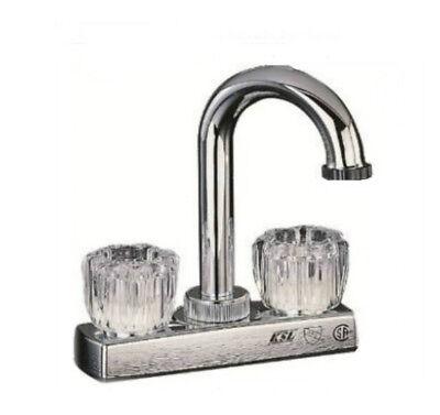 Topmost PF4205A 2-Handle Bar Sink Faucet, 4