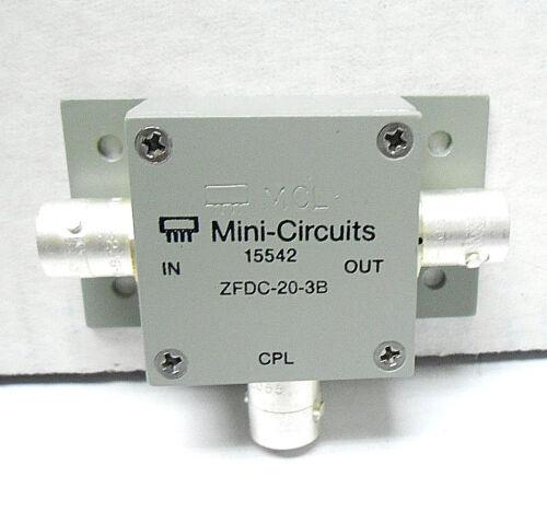 ZFDC-20-3B MINI CIRCUITS DIRECTIONAL COUPLER SMB/ SNC NEW OLD STOCK