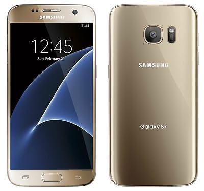 $299.99 - New Samsung Galaxy S7 SM-G930 - 32GB - Gold Platinum (Verizon) Smartphone