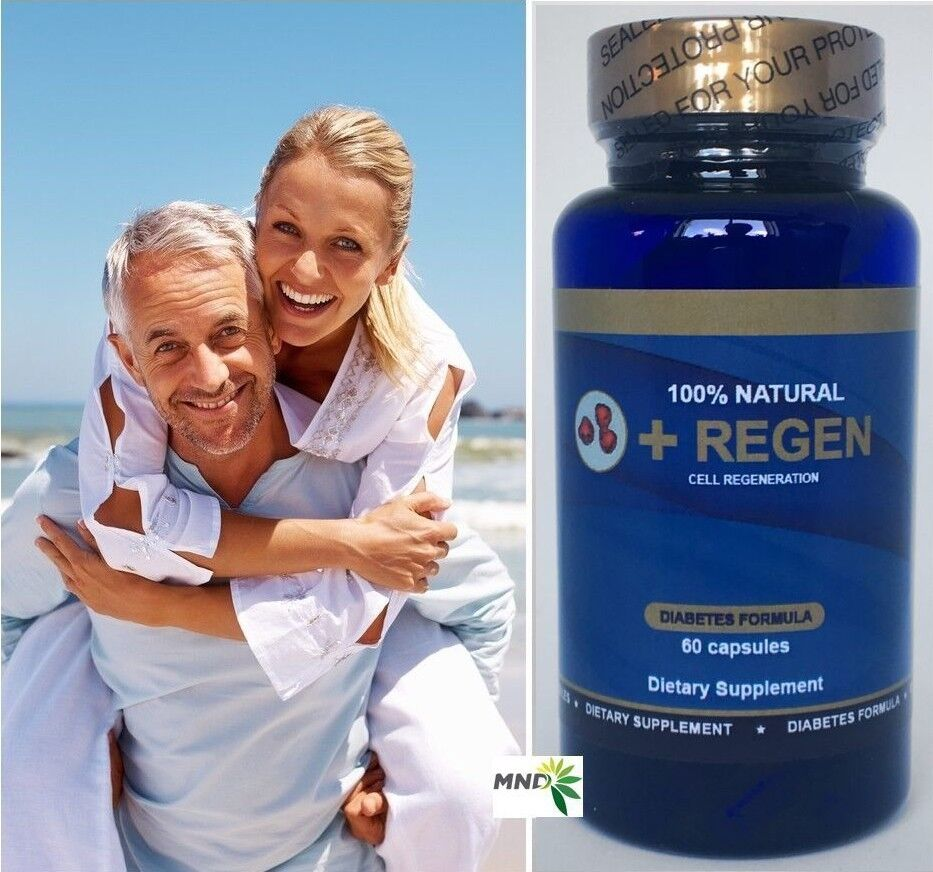 3 Maxregen Diabetic Regenex Muscle Strength Energy Gluten Free Supplement Pills 1