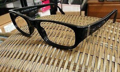 NAUTICA Black Sunglasses / Eyeglasses San Juan Frames 51[]21 135 ()