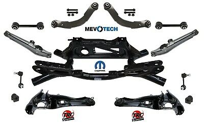 REAR SUSPENSION 13pcs KIT with MOPAR CROSSMEMBER FOR JEEP COMPASS 07-10 4WD