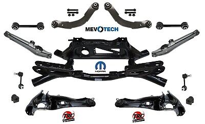 REAR SUSPENSION 13pcs KIT with MOPAR CROSSMEMBER FOR JEEP PATRIOT 07-10 4WD
