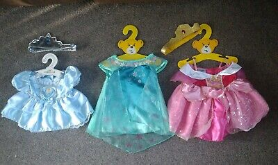 Build-a-Bear Disney Princess Outfit Bundle