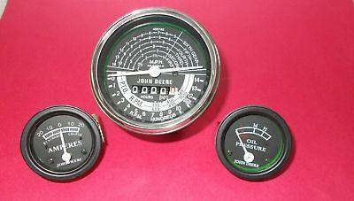 John Deere Tractor Tachometer Ammeter Oil Pressure Gauge Set Replacement Set