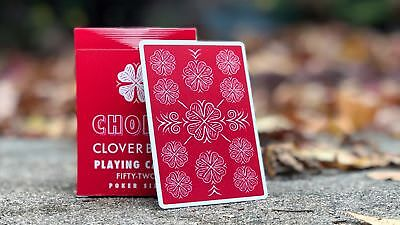 1 DECK Choice Cloverback red playing cards FREE USA SHIPPING!