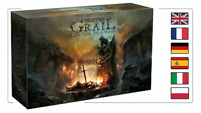 In hand: TAINTED GRAIL The Fall of Avalon Kickstarter Exclusive Wave 1 + NIAMH