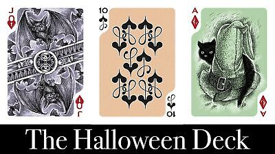 Halloween Playing Cards Poker Size Deck MPC Custom Limited Edition New Seaed