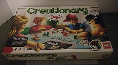 2010 Lego Creationary 3844 Game Missing 2 Pieces