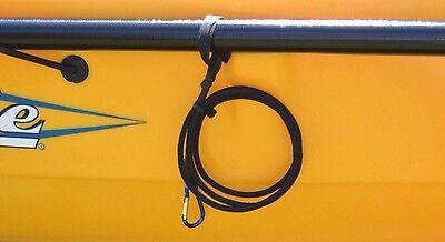 "Kayak Paddle Leash 42""  Fishing Accessories Handmade in USA"