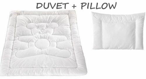 Merino Wool Baby Bedding Set Cot Bed Duvet 120 x 150 + pillow 40 x 60cm  8-10tog