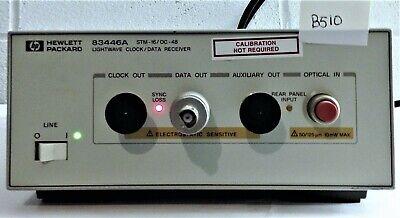 Hp 83446a Lightwave Clockdata Receiver