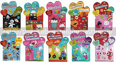 PAPER CRAFT* Valentines Day CARDS+STICKERS Classroom Exchange *YOU CHOOSE*](Halloween Craft Classroom)
