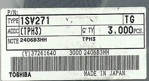 25x 1SV271 SMD PIN DIODE TOSHIBA (A-3615) - <span itemprop=availableAtOrFrom>WARSZAWA, mazowieckie, Polska</span> - Zwroty są przyjmowane - WARSZAWA, mazowieckie, Polska