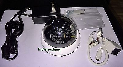 Hd H.264 1.3megapixel Network Mini Dome Ip Camera Ir 15m Poe Onvif Motion Detect