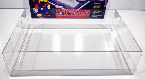 1 Console Box Protector For ORIGINAL SNES MINI    NOT CLASSIC!   Super Nintendo