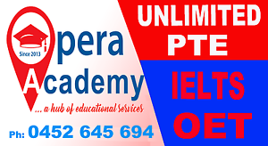 PTE, IELTS & OET Classes 100% Guranteed - Opera Academy, ASHFIELD Ashfield Ashfield Area Preview