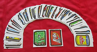 WACKY PACKAGES STICKERS ANS7 COMPLETE SET 1-55     NM/MT CONDITION