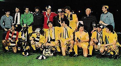 TOTTENHAM HOTSPUR FOOTBALL TEAM PHOTO 1981-82 SEASON