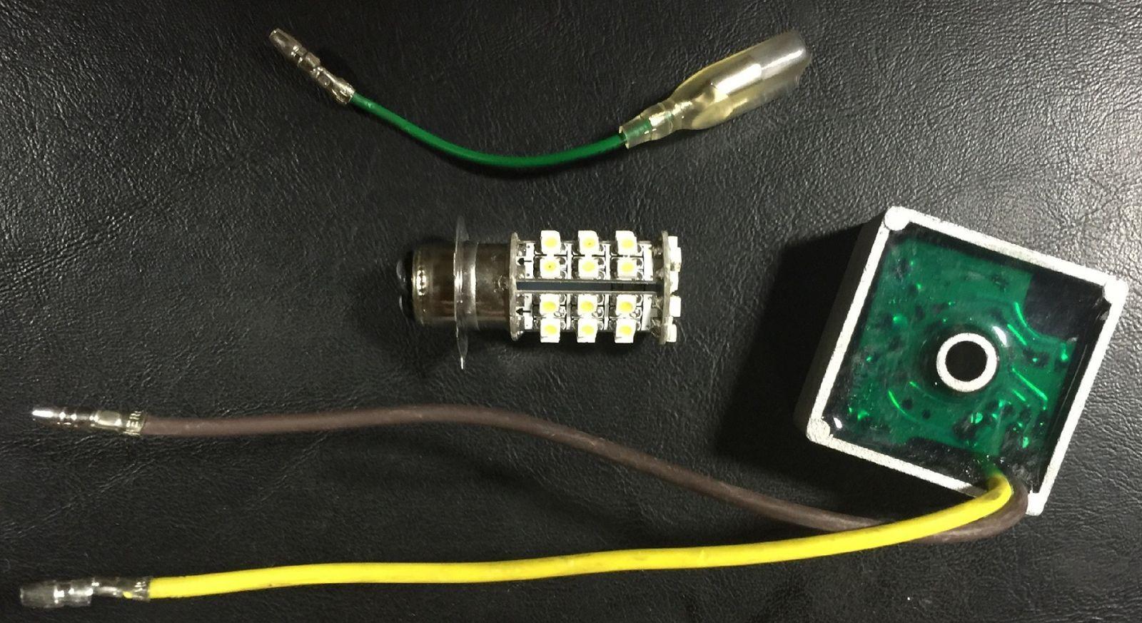 COBB LED HEADLIGHT BULB KIT ATC185 ATC185S ATC200 READ EXACT FITMENTS AC/LED/KIT
