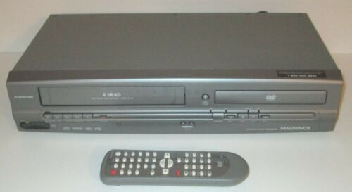 Magnavox MWD2205 DVD VCR Player Tested Working with Remote